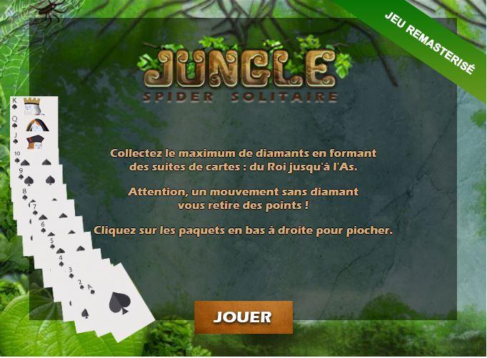 Jouer au jeu de cartes Jungle Spider Solitaire