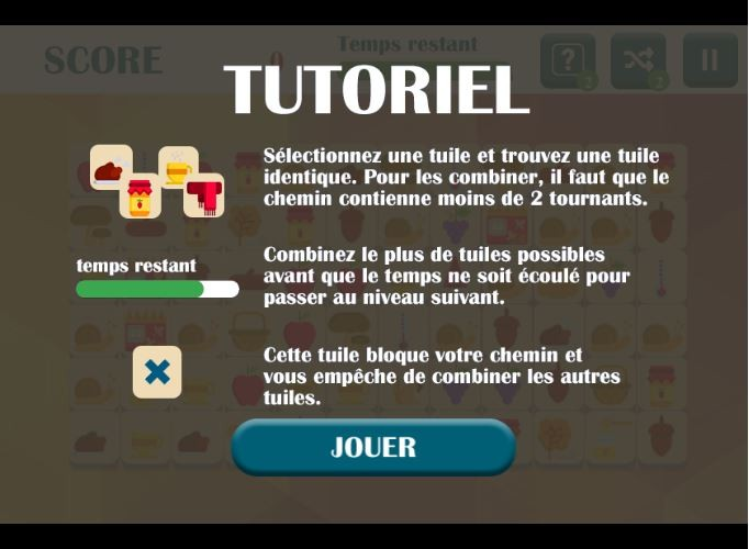 Explications jeu Mahjong