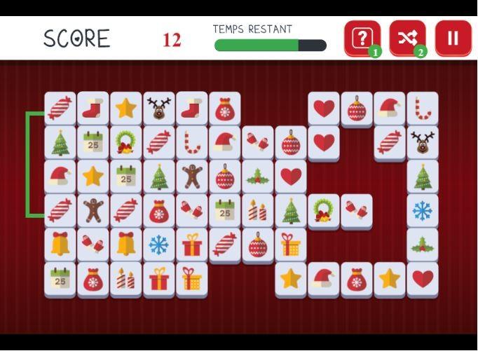 Partie de Mahjong hiver