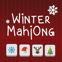 Jeu hiver mahjong