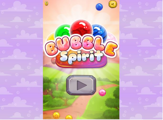 Jeu mobile HTML5 Bubble Spirit