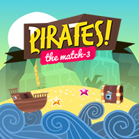 jeu Match 3 Pirates!
