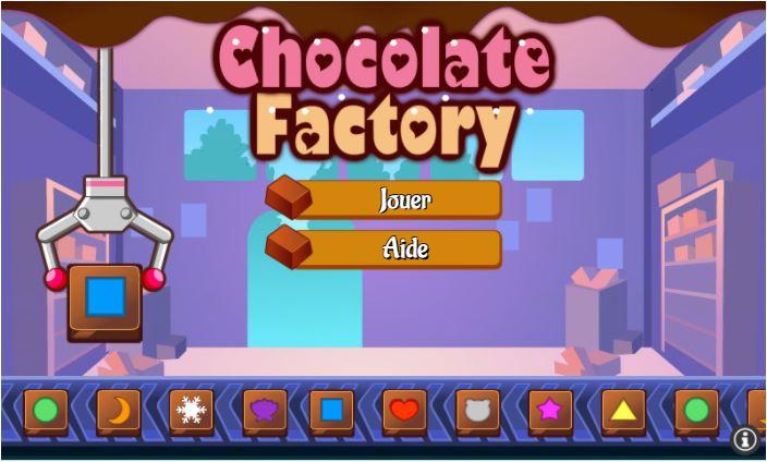 Commencer à jouer à Chocolate Factory