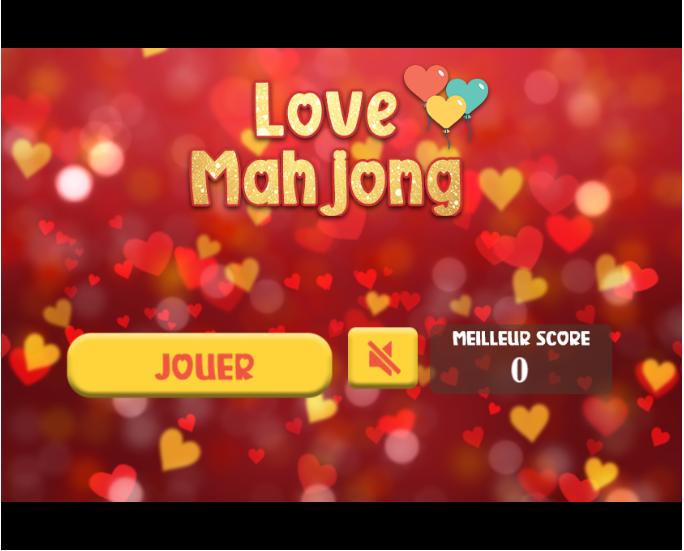 Accueil jeu Love Mahjong avec cadeaux à gagner